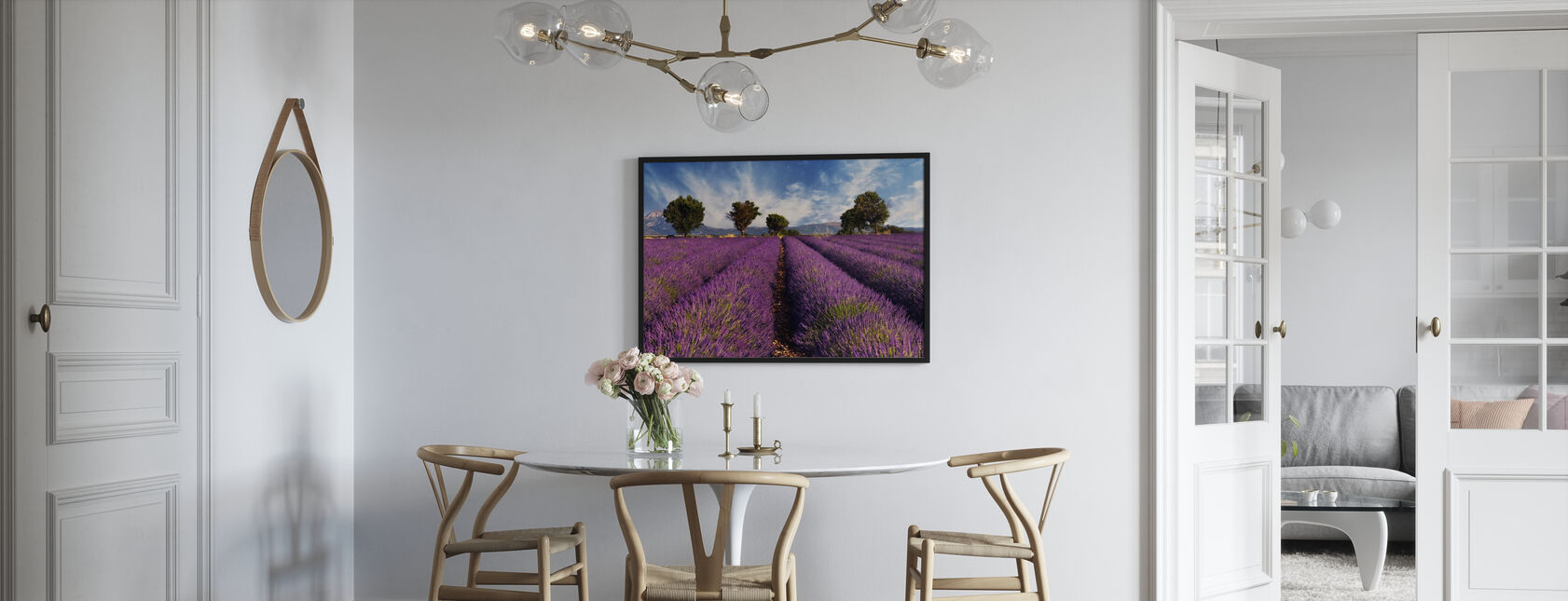 Lavender Field in Provence - Poster - Kitchen