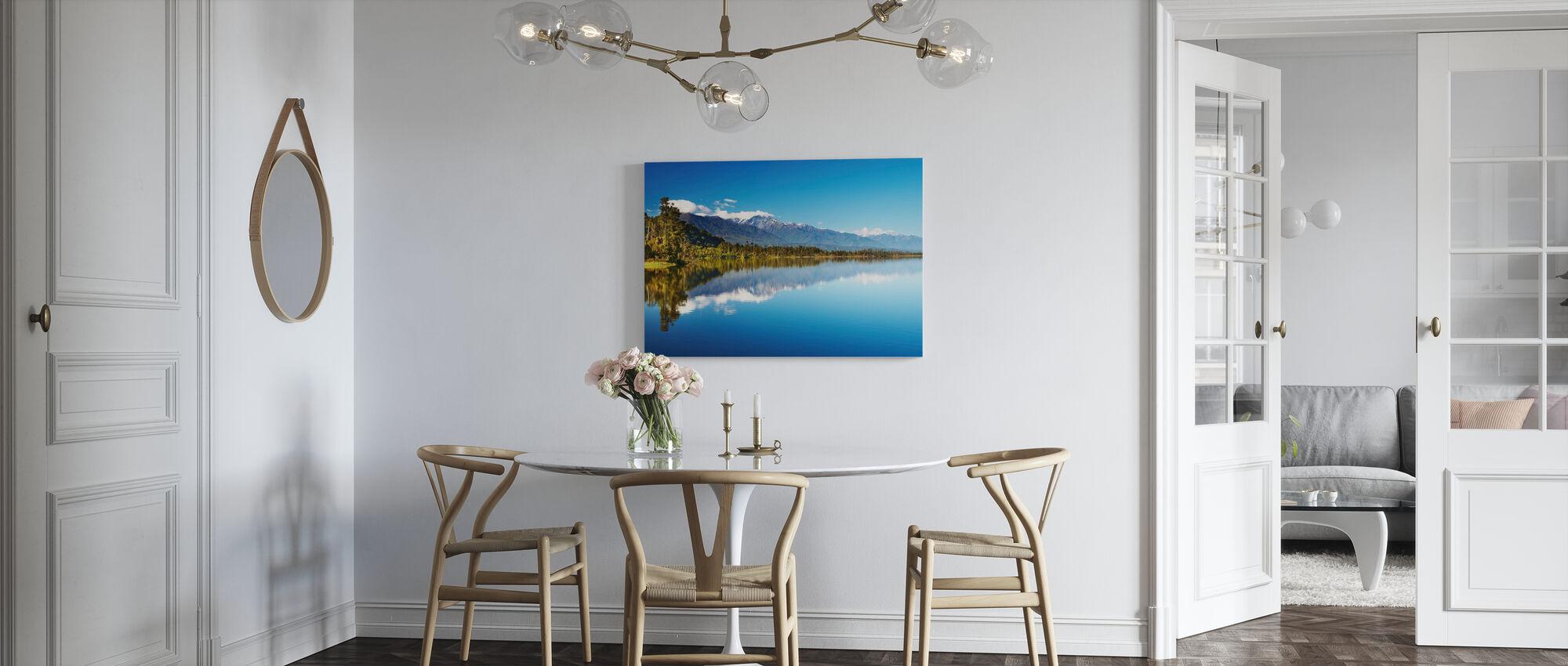 Vacker sjö, Nya Zeeland - Canvastavla - Kök