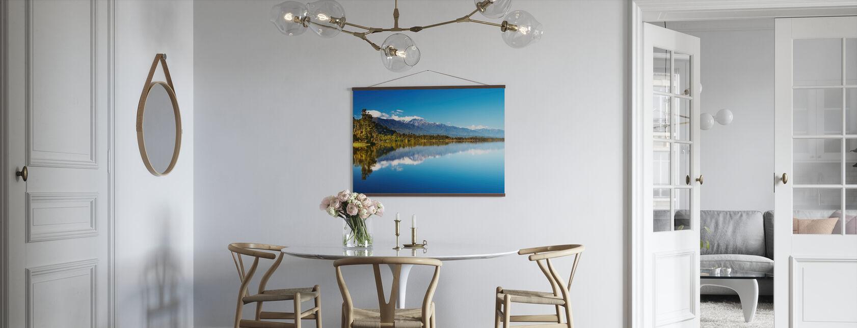 Beautiful lake, Nouvelle-Zélande - Affiche - Cuisine