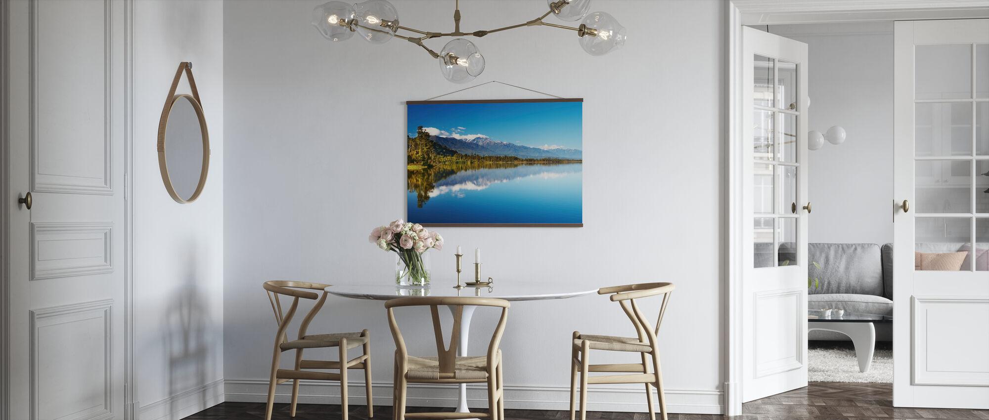 Kaunis järvi, Uusi-Seelanti - Juliste - Keittiö