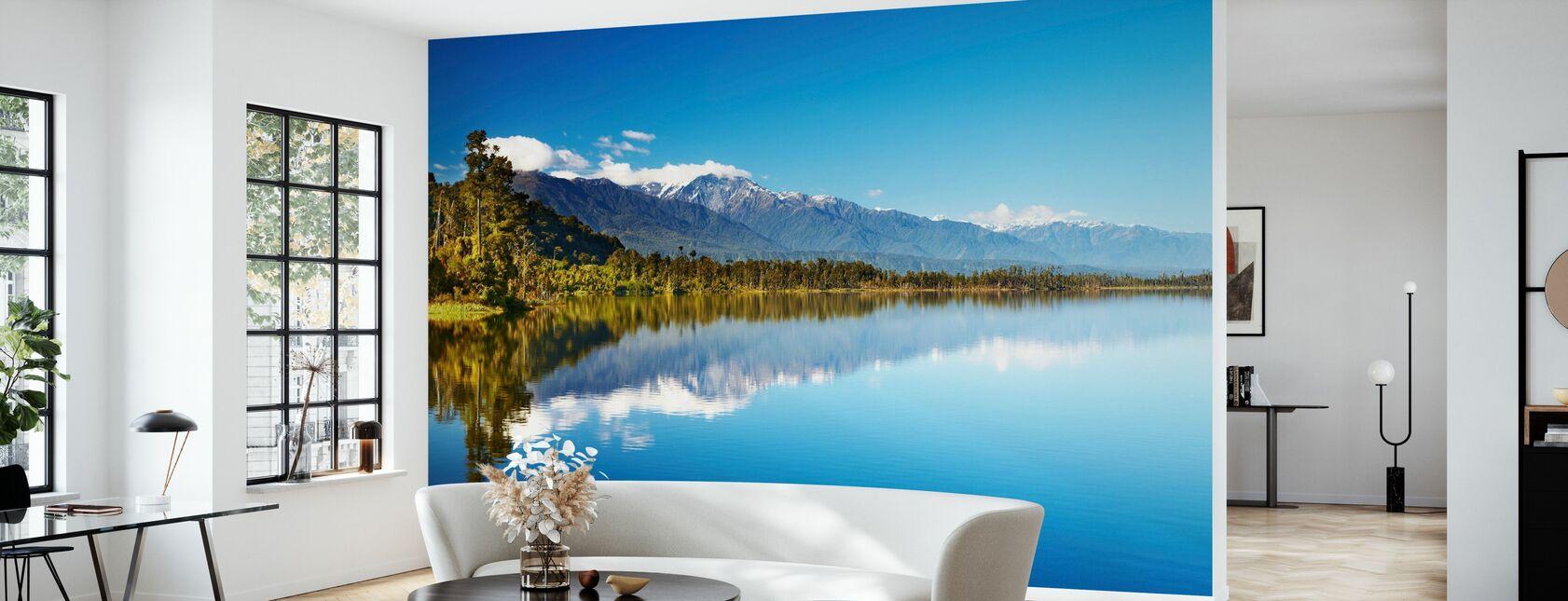 Beautiful lake, Nouvelle-Zélande - Papier peint - Salle à manger