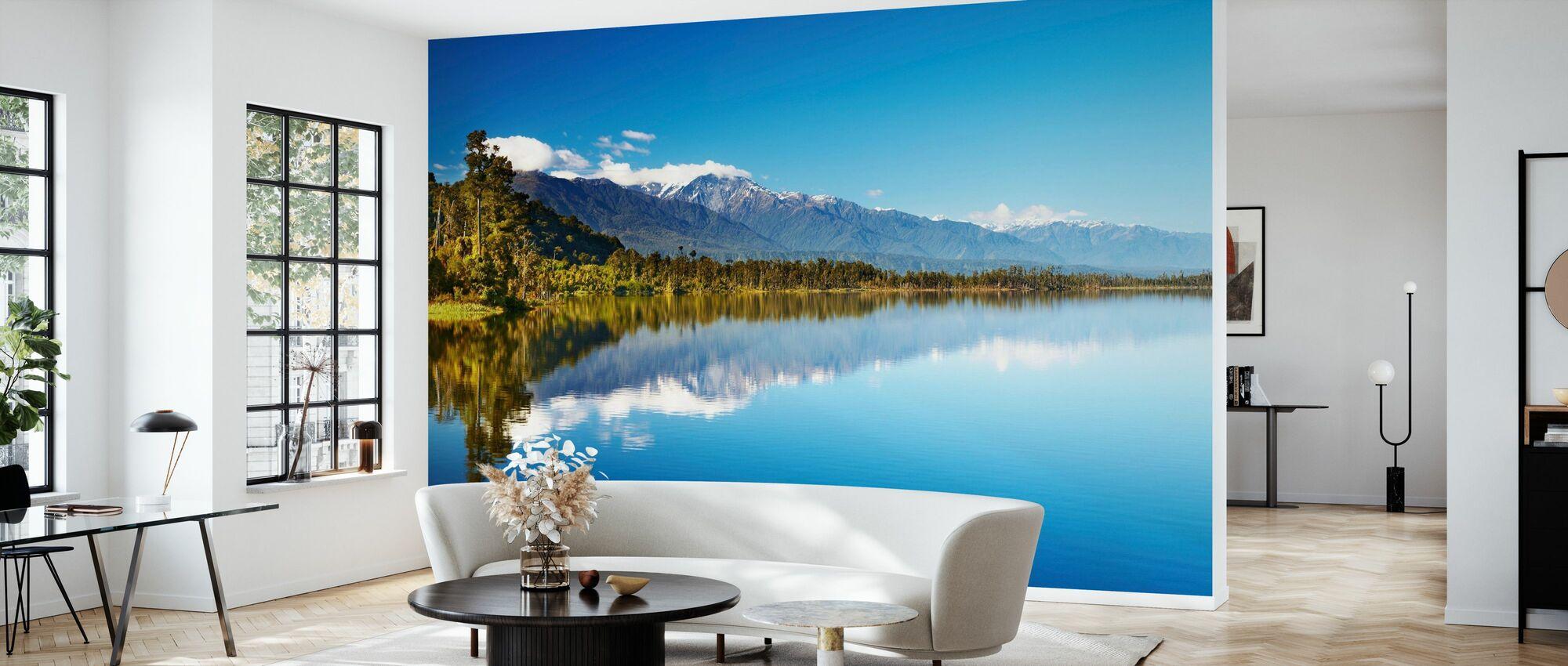 Beautiful lake, New Zealand - Wallpaper - Living Room