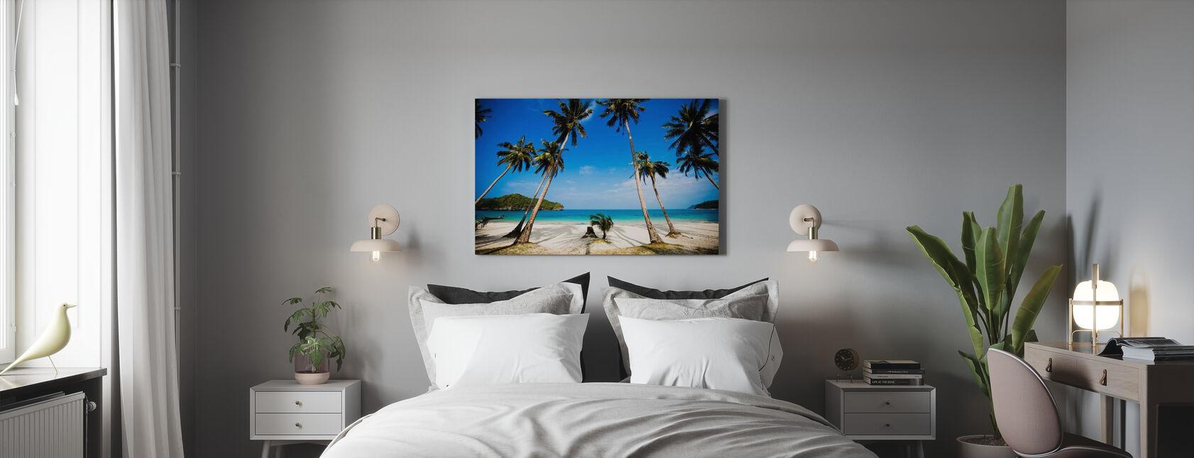 Kokospalmen, Thailand - Canvas print - Slaapkamer