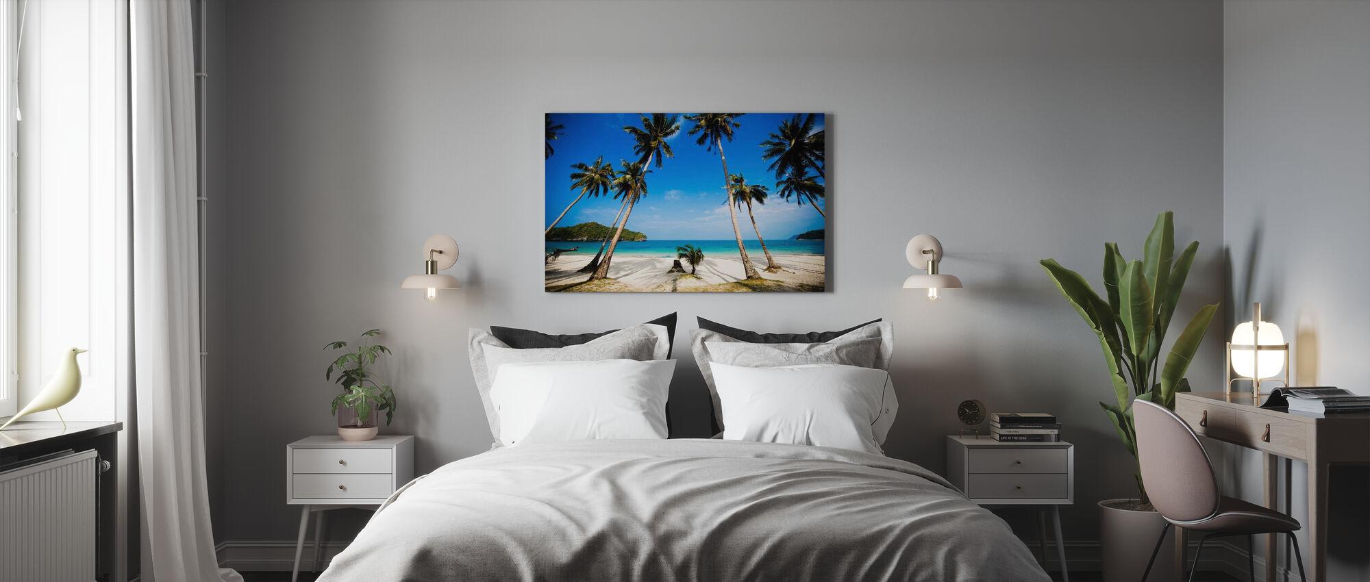 Coconut Palms, Thaïlande - Impression sur toile - Chambre