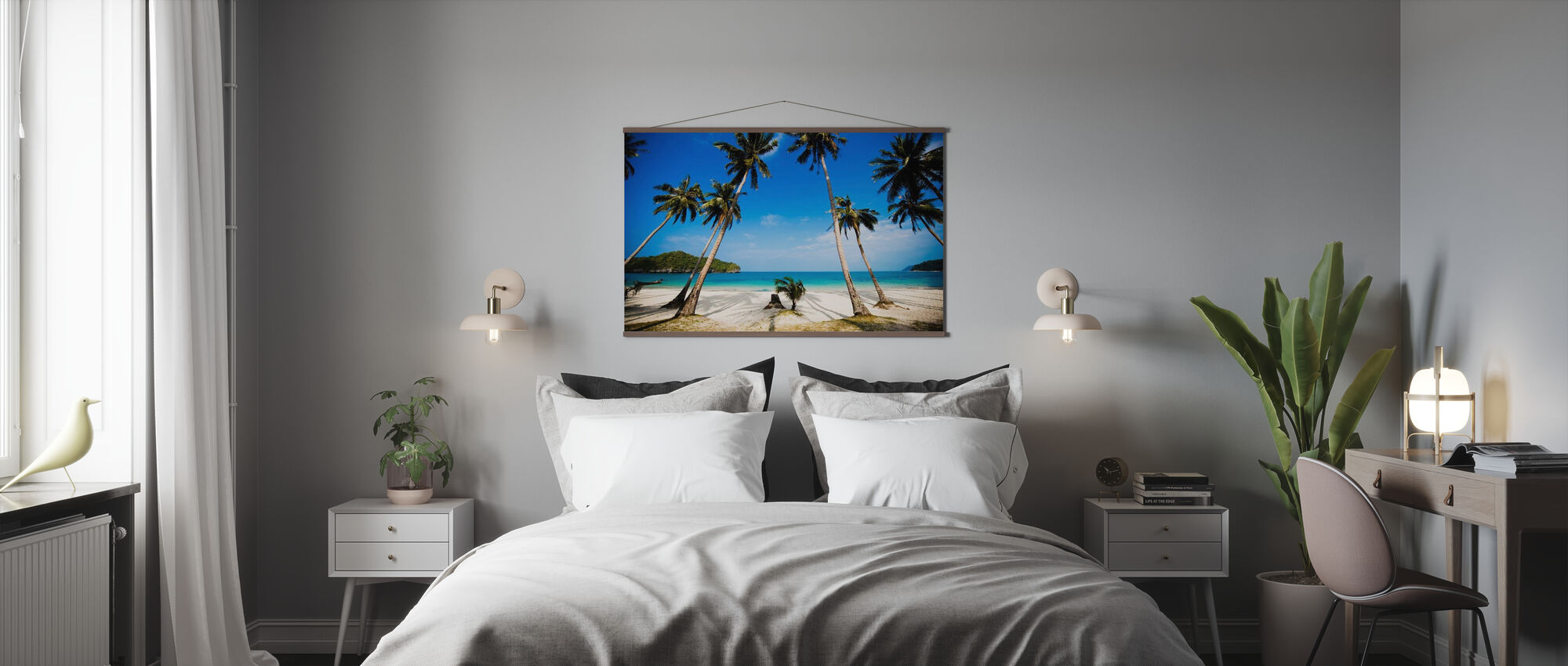 Coconut Palms, Thailand - Poster - Bedroom