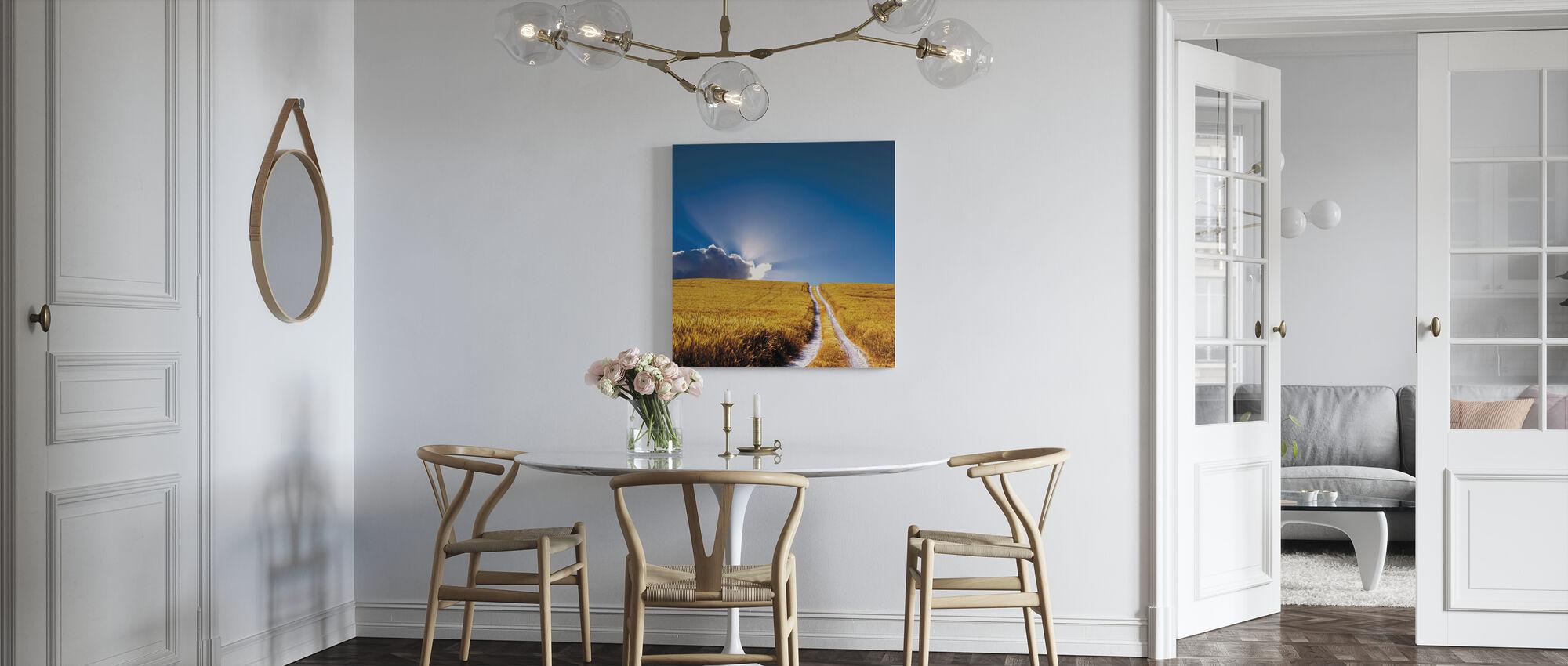 Landschap aanzicht - Canvas print - Keuken