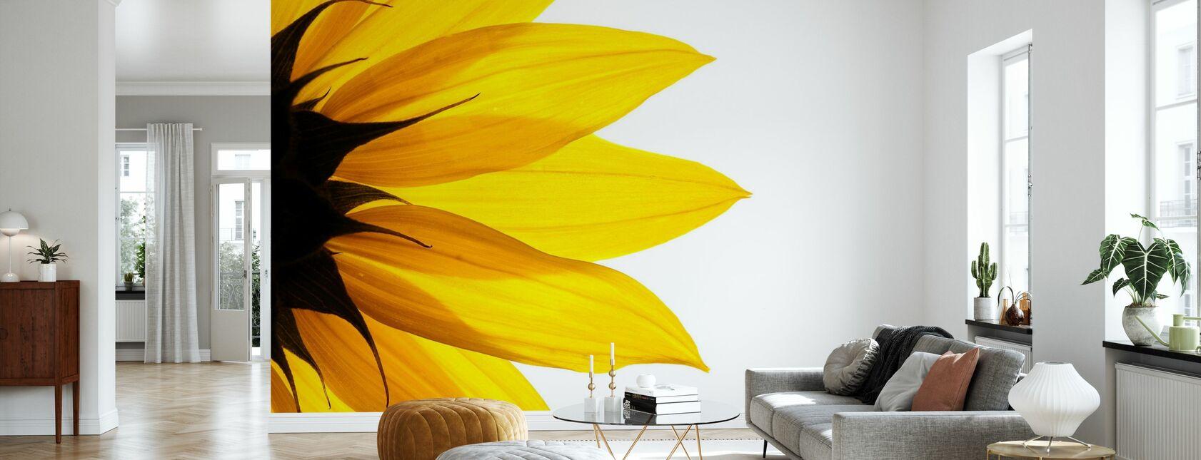 Sunflower Detail - Wallpaper - Living Room
