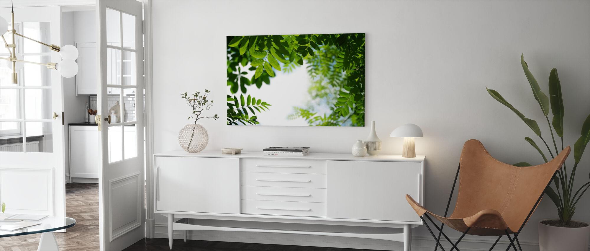 Bladeren - Canvas print - Woonkamer