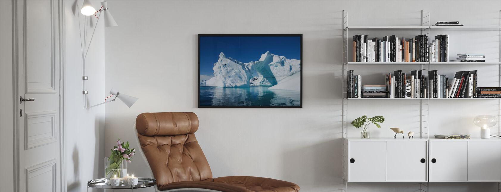 Jäävuori Etelämantereen - Juliste - Olohuone