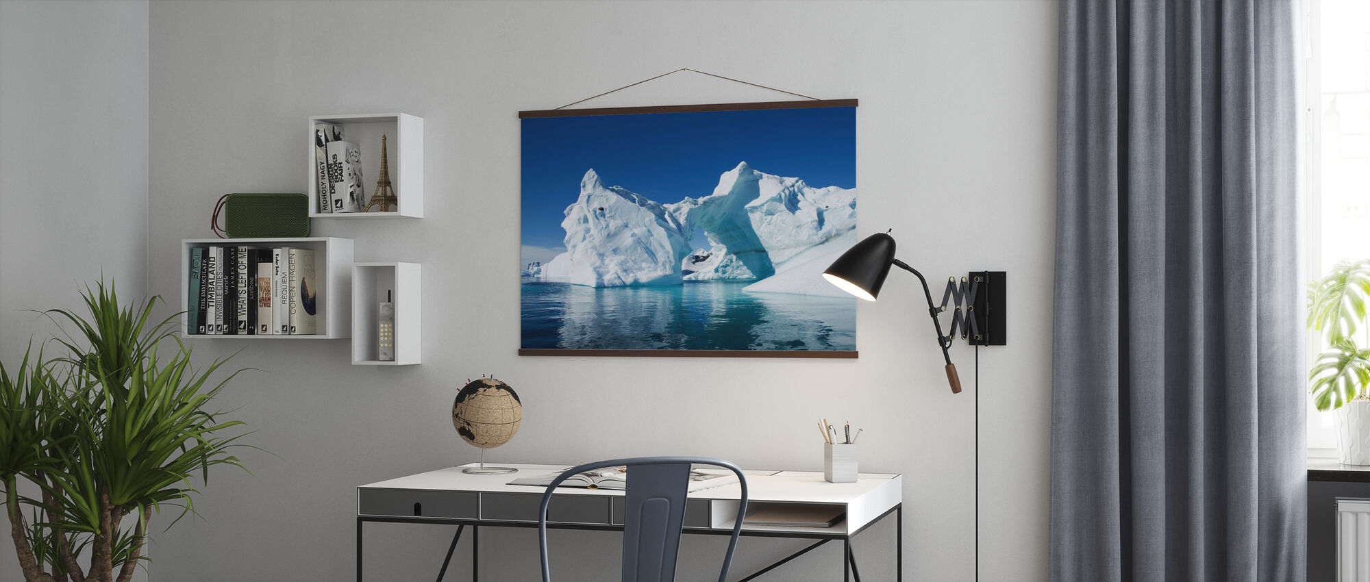 Isfjell Antarktis - Plakat - Kontor