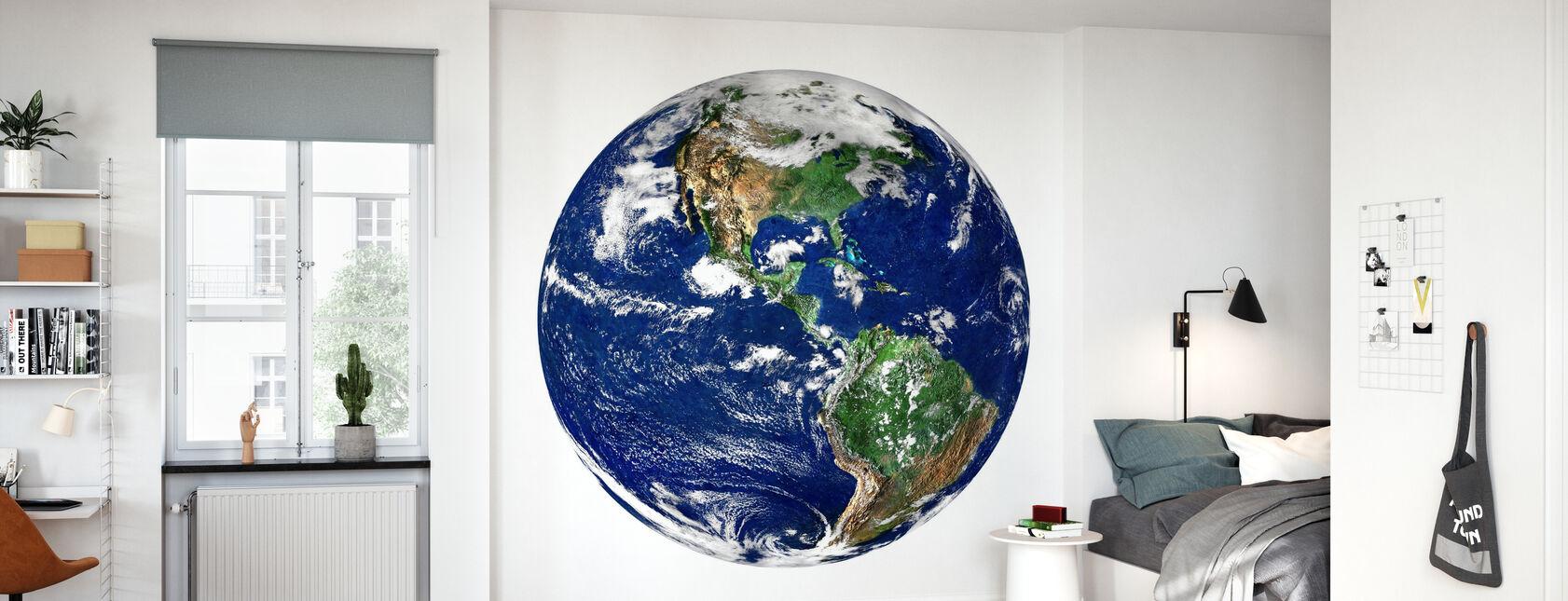 Globe - Papier peint - Chambre des enfants