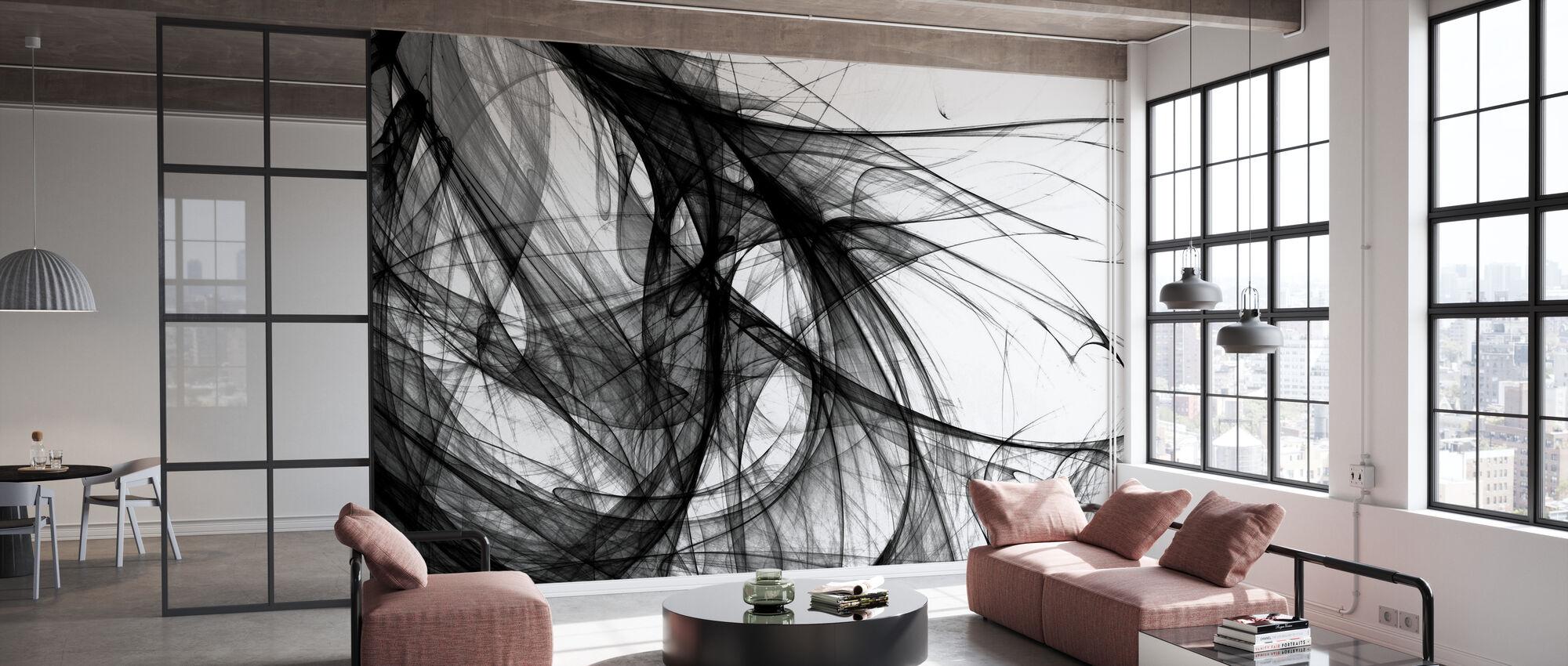Lumière intérieure - n/b - Papier peint - Bureau