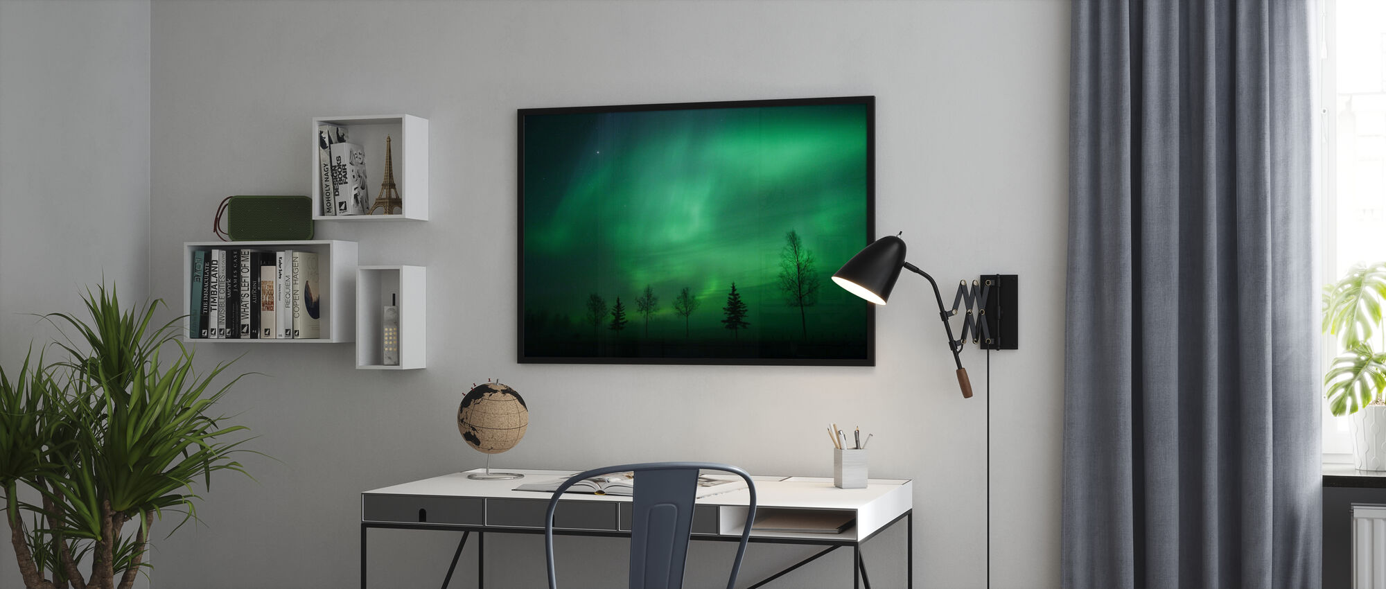 Nordic Lights - Poster - Office