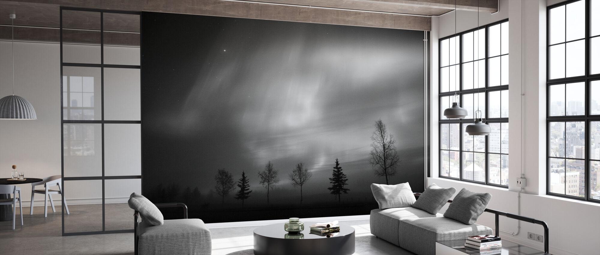 Nordic Lichten - Behang - Kantoor