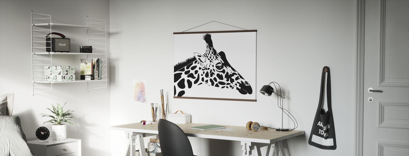 Giraffa - Poster - Uffici