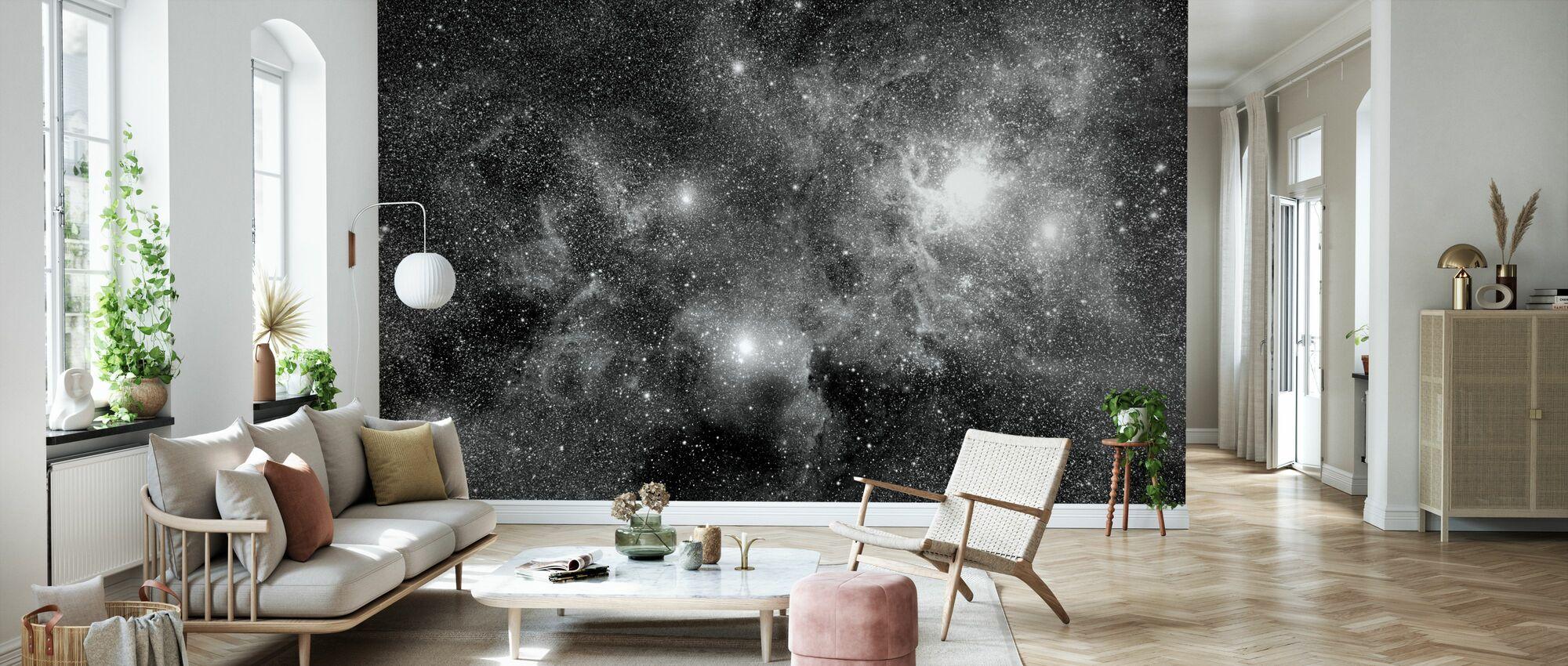 Nébuleuses de champ stellaire - Papier peint - Salle à manger