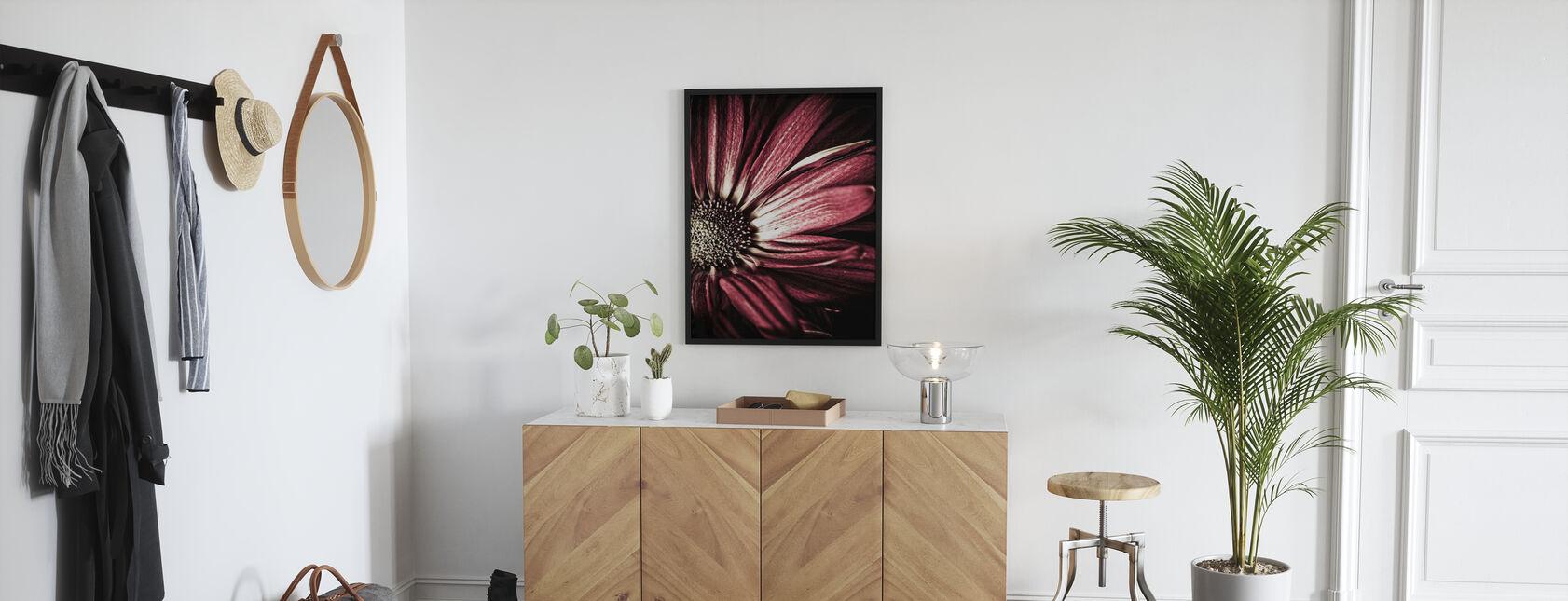 Dunkle Gänseblümchen - Poster - Flur