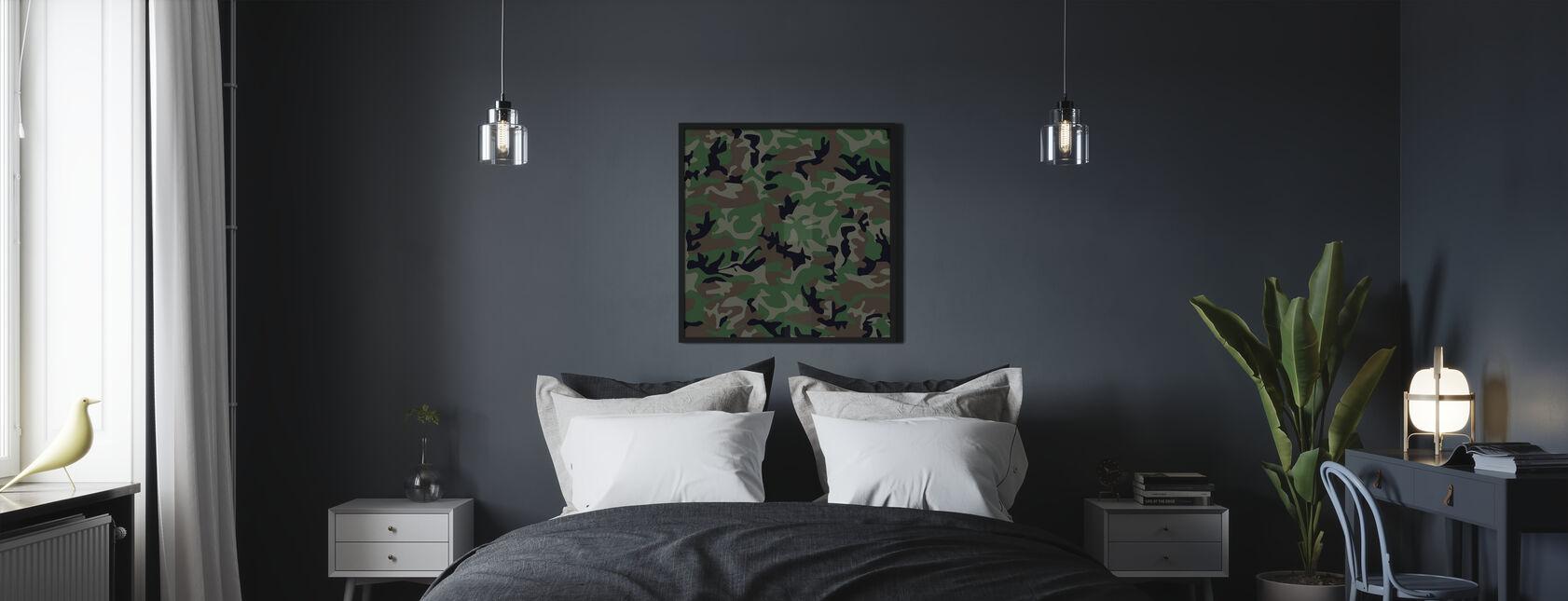 Camouflage - Poster - Slaapkamer