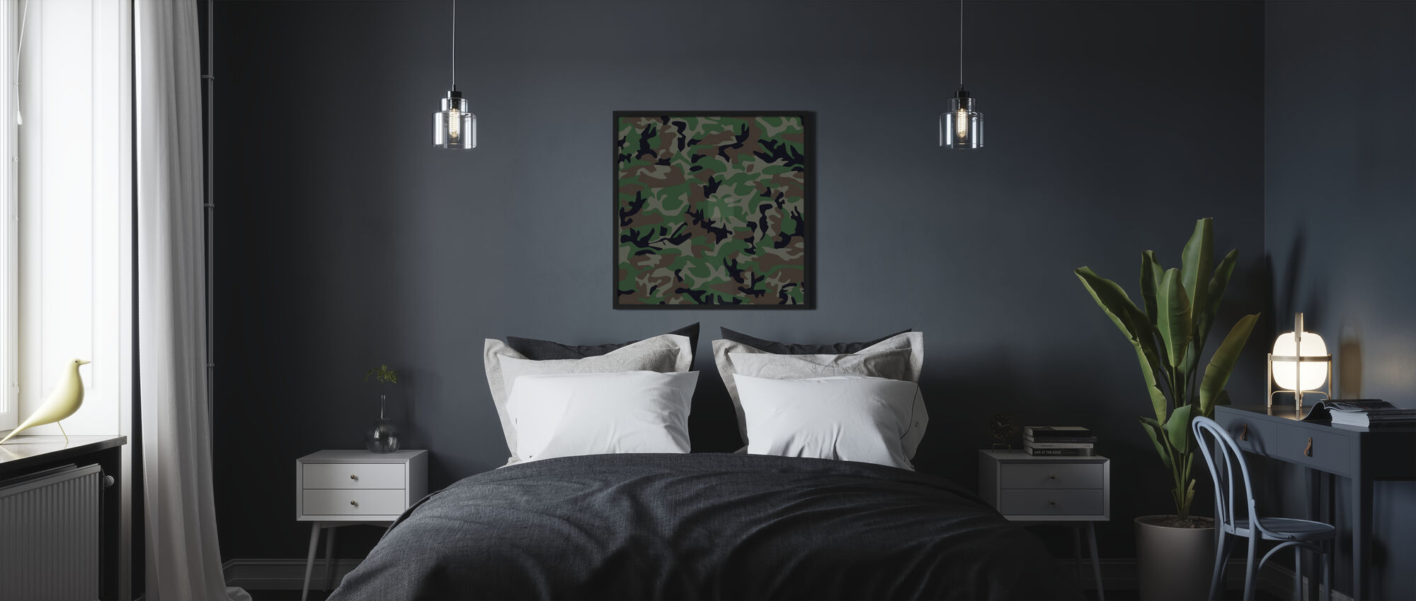 Camouflage - Poster - Bedroom