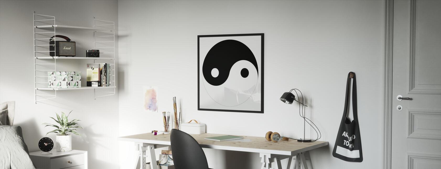 Yin-Yang - Poster - Kids Room