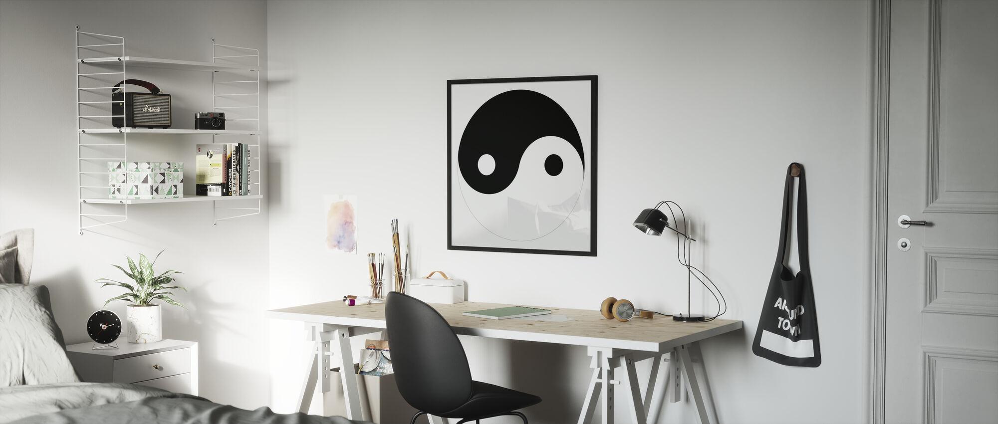 Yin-Yang - Poster - Kinderzimmer