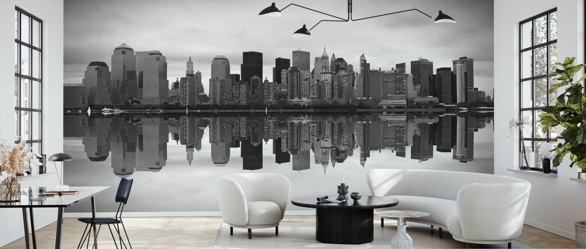Manhattan - Wallpaper - Living Room
