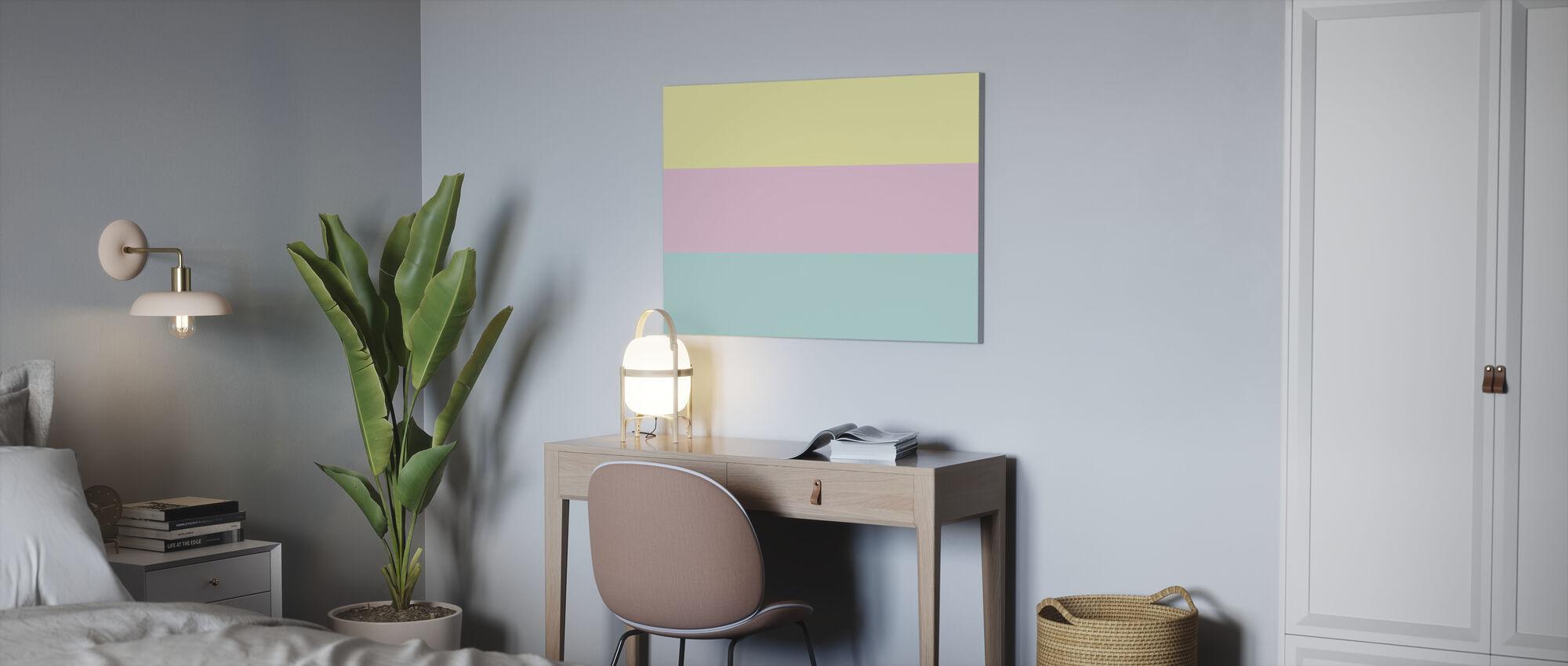 Pastell - Impression sur toile - Bureau