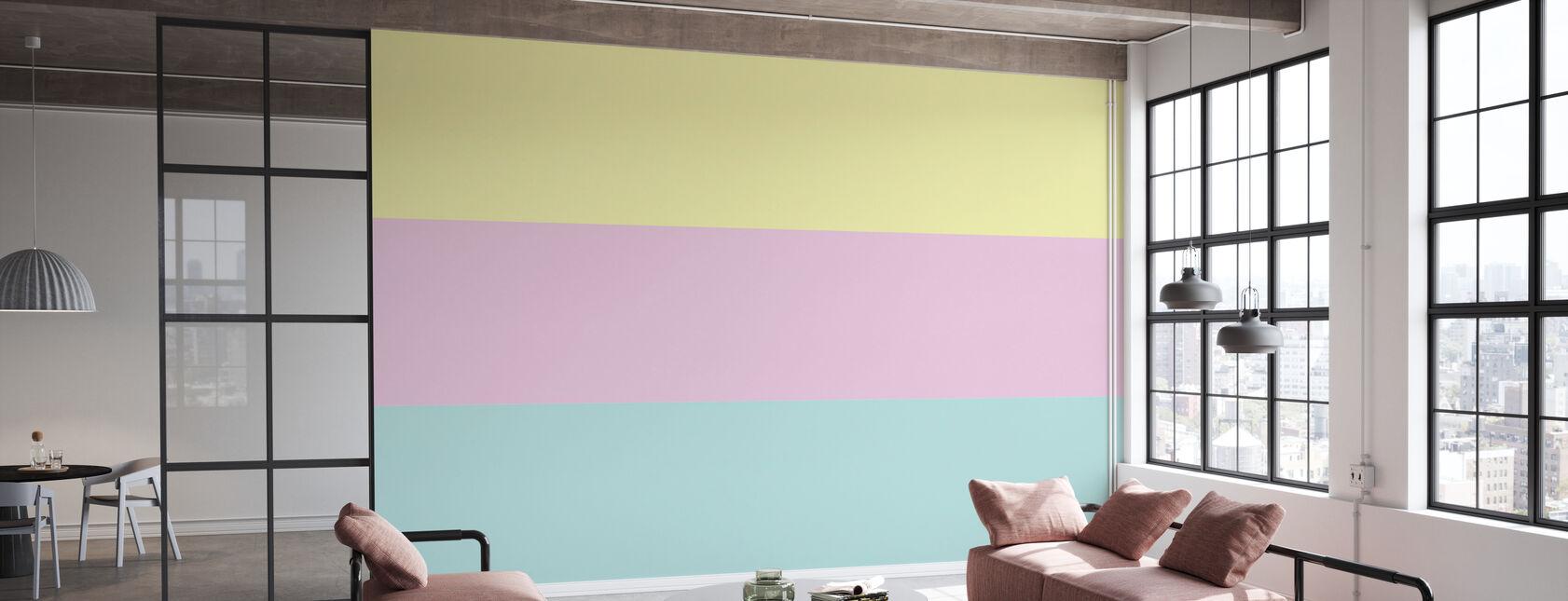 Pastell - Papier peint - Bureau