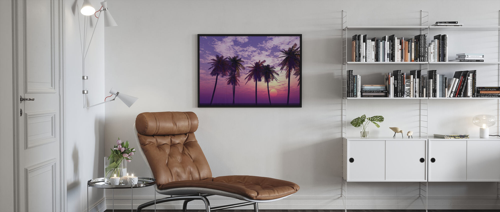Beautiful Sunset - Poster - Living Room