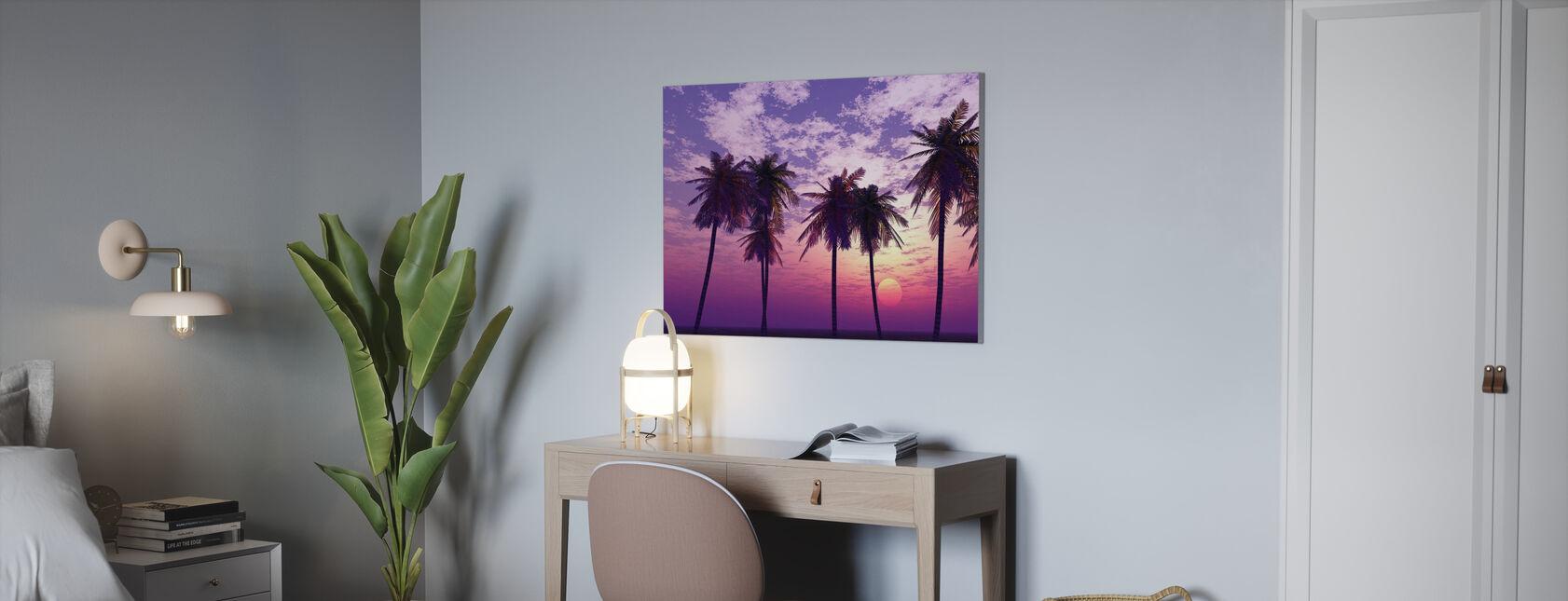 Beautiful Sunset - Canvas print - Office