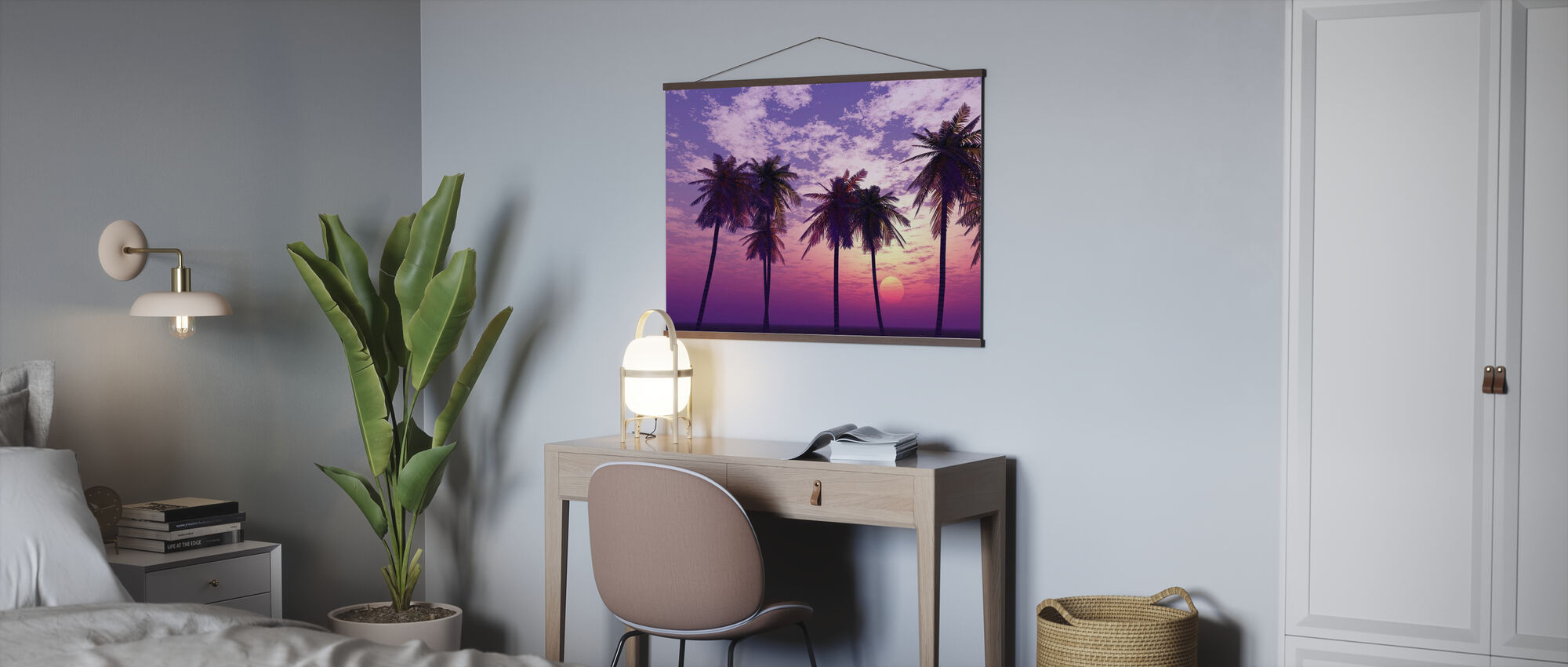 Beautiful Sunset - Poster - Office