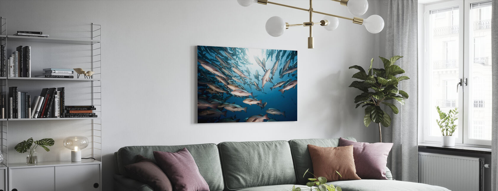 Mangrove Snappers - Canvas print - Living Room