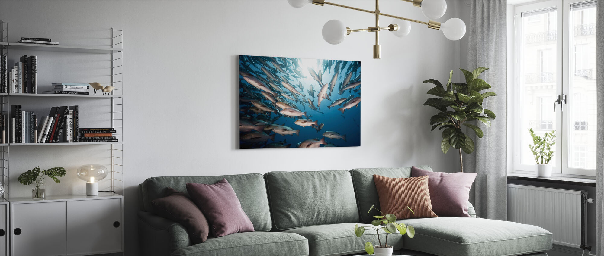 Mangrove Snappers - Canvas print - Woonkamer