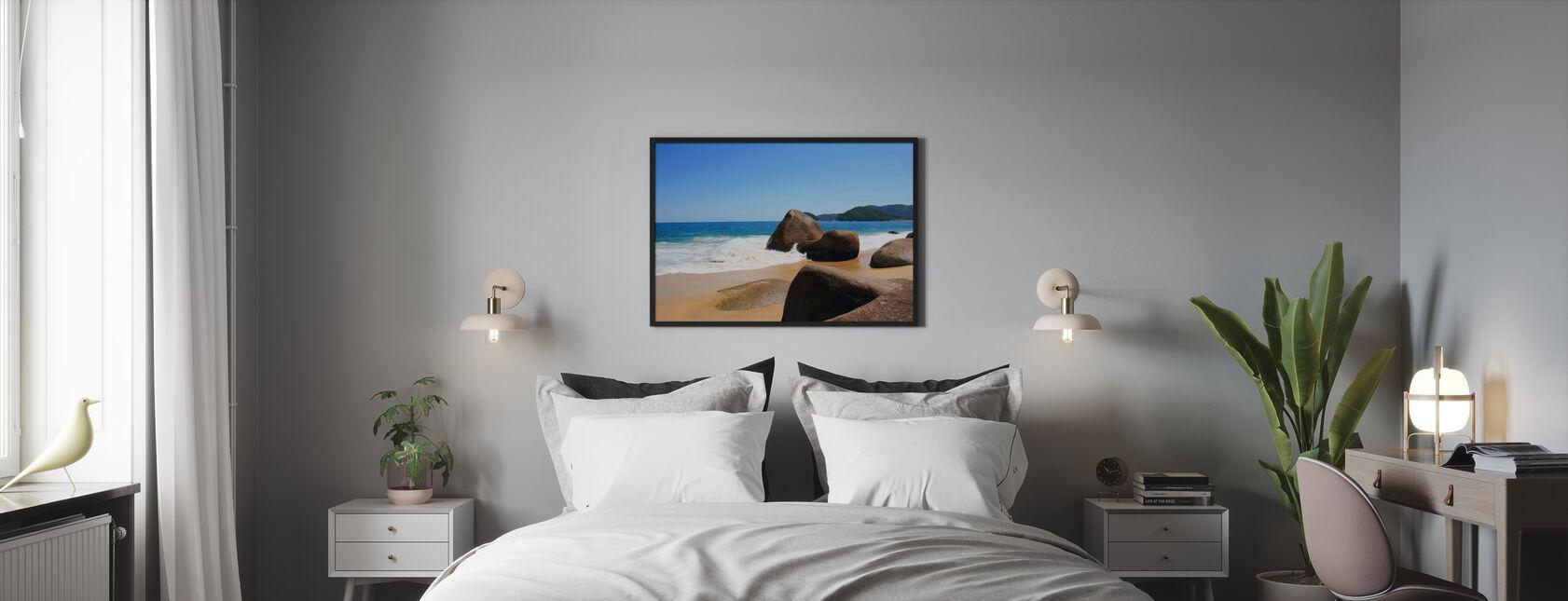 Kaunis ranta Brasiliassa - Kehystetty kuva - Makuuhuone