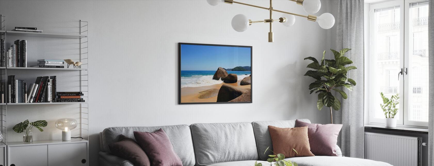 Mooi Strand in Brazilië - Poster - Woonkamer