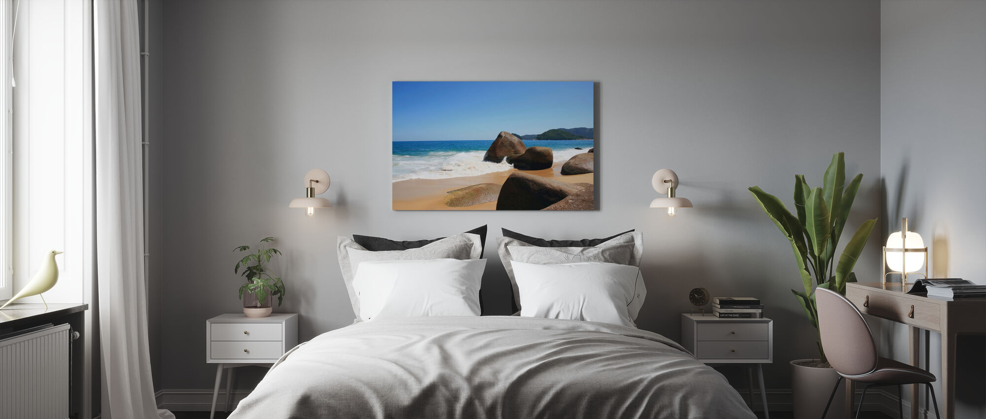 Mooi Strand in Brazilië - Canvas print - Slaapkamer