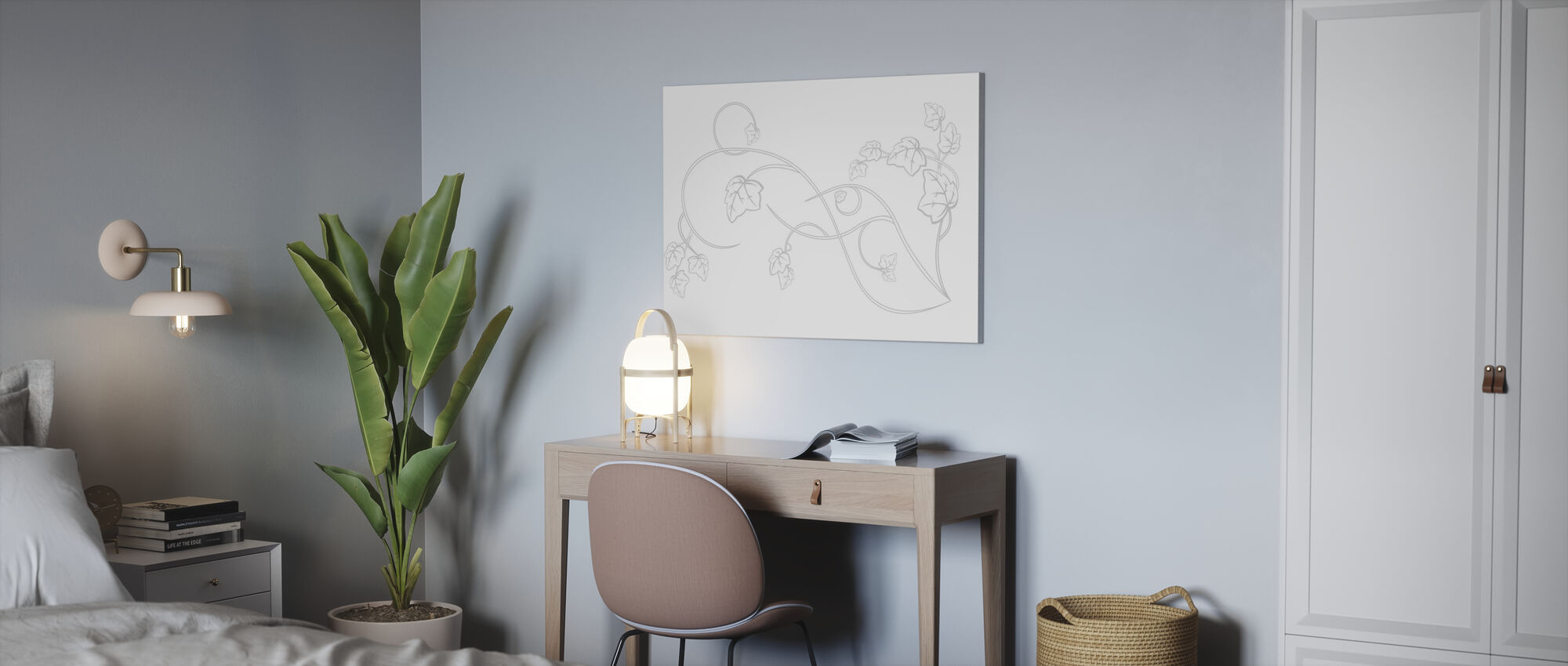 Ranka - Impression sur toile - Bureau