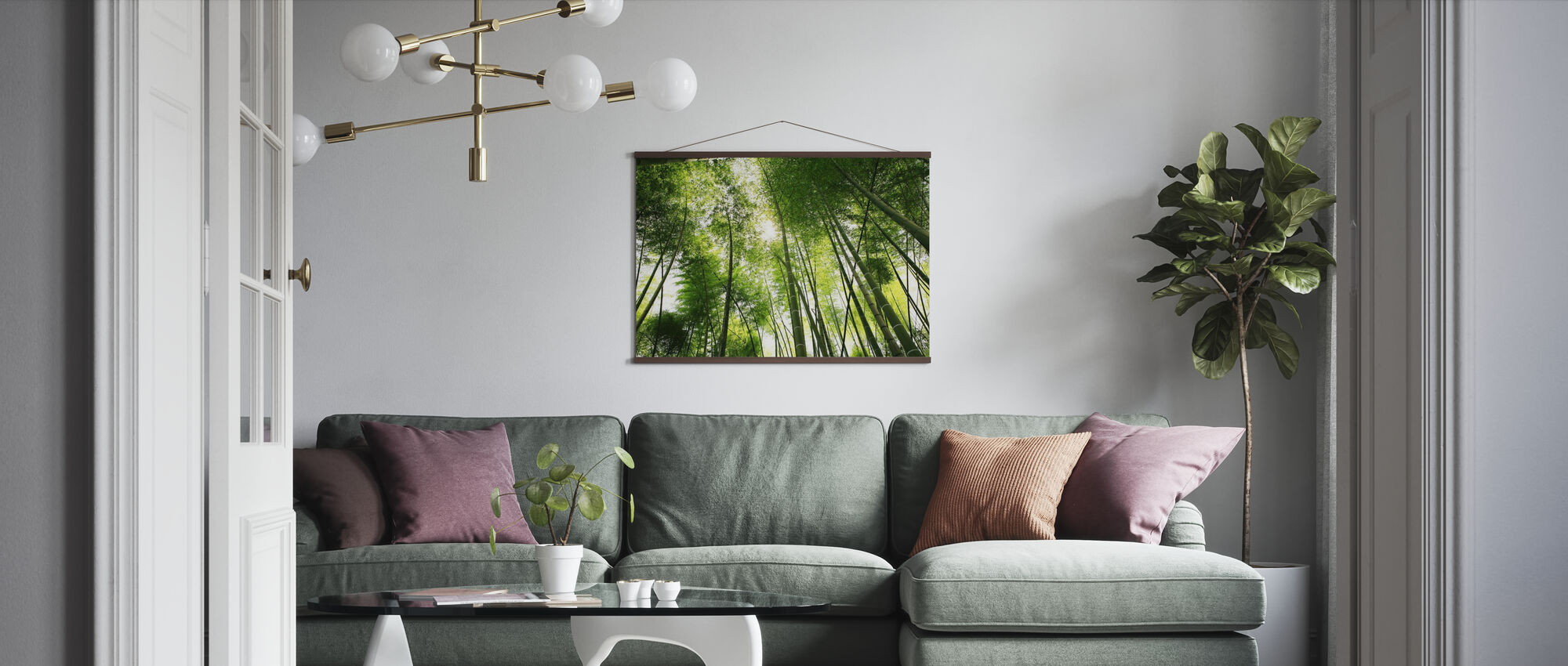 Mektige bambus - Plakat - Stue
