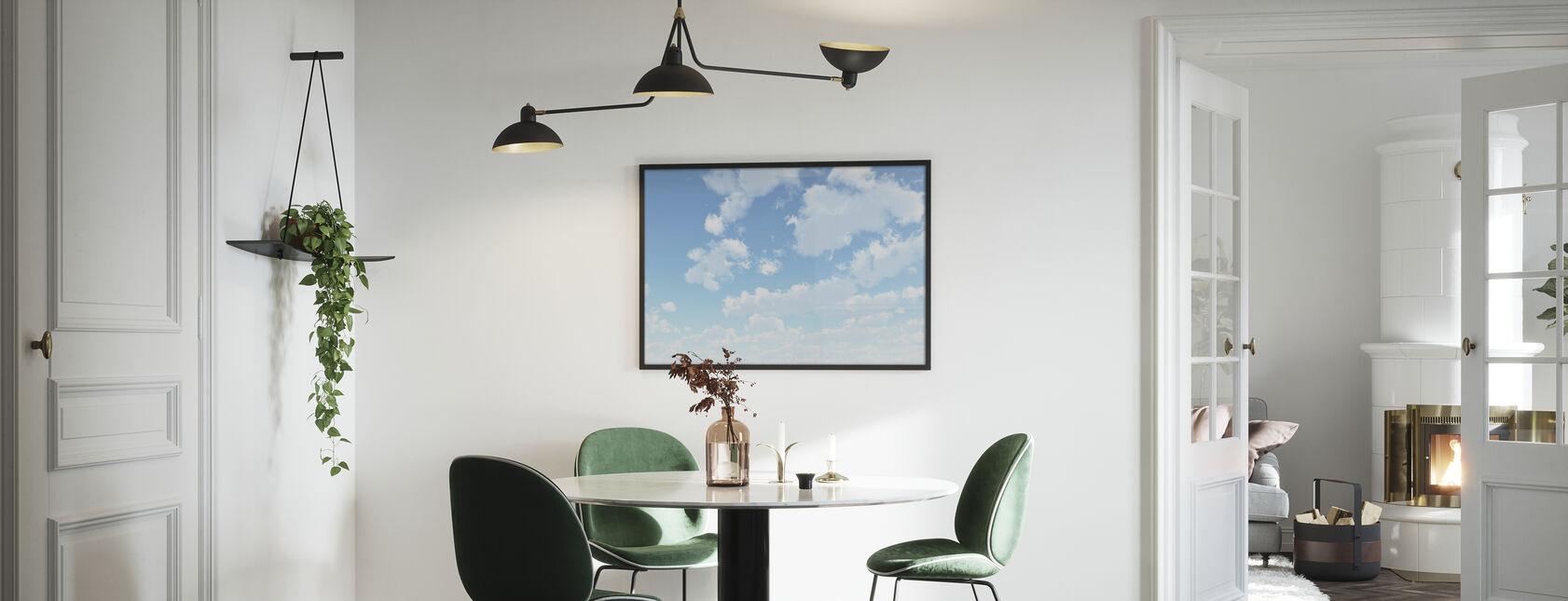Wolkenlandschap - Poster - Keuken
