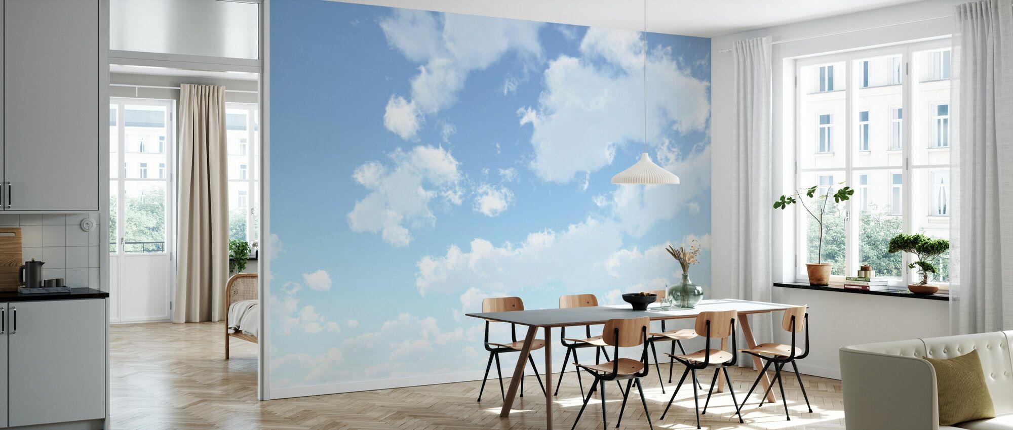 Wolkenlandschap - Behang - Keuken