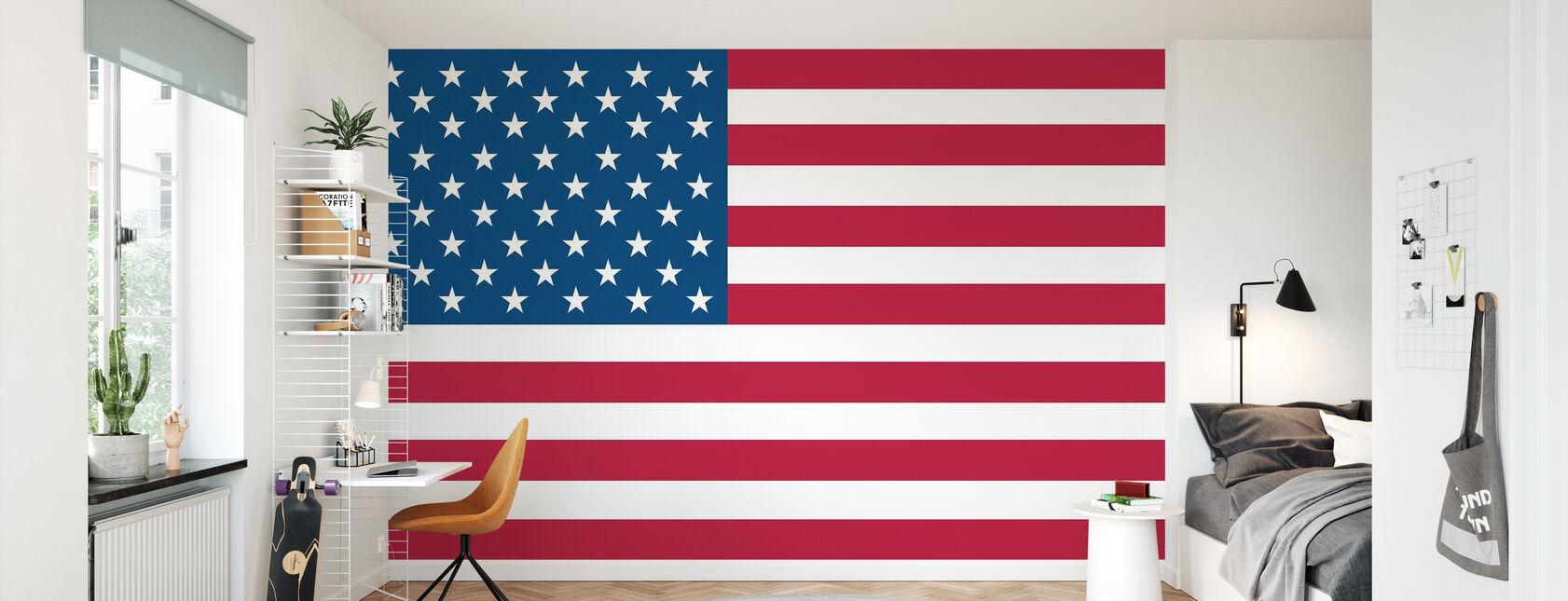 Flag of United States - Wallpaper - Kids Room