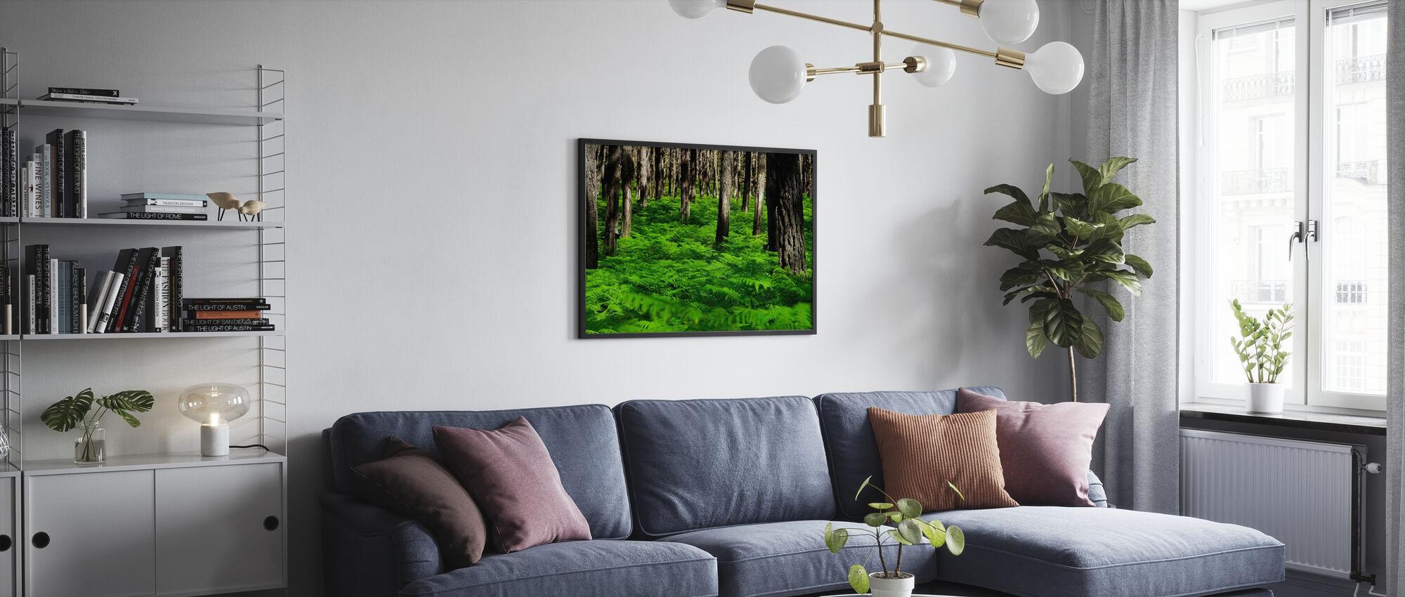 Vihreä Harmony - Juliste - Olohuone