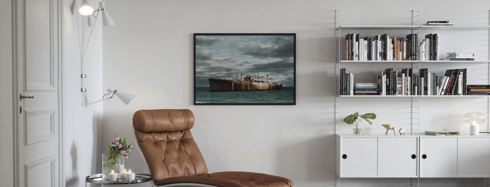 Ship Wreck - Poster - Living Room