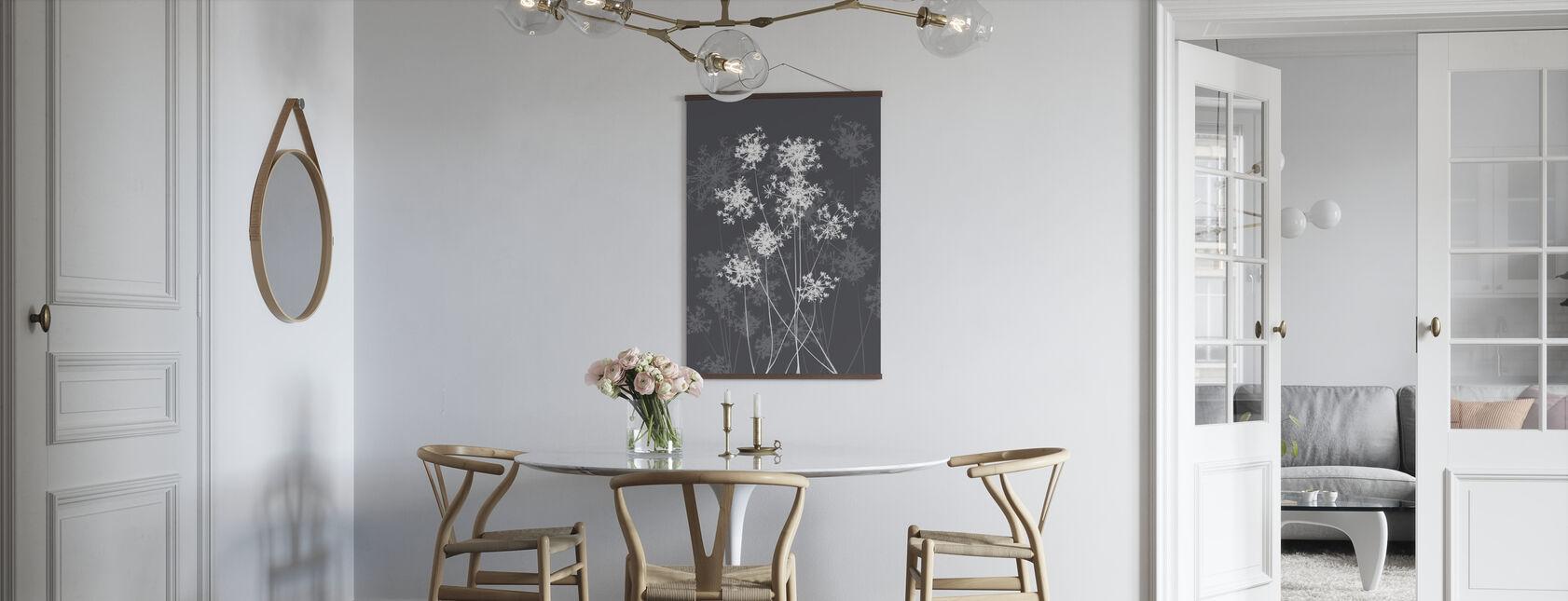 Dandelions - Grey - Poster - Kitchen