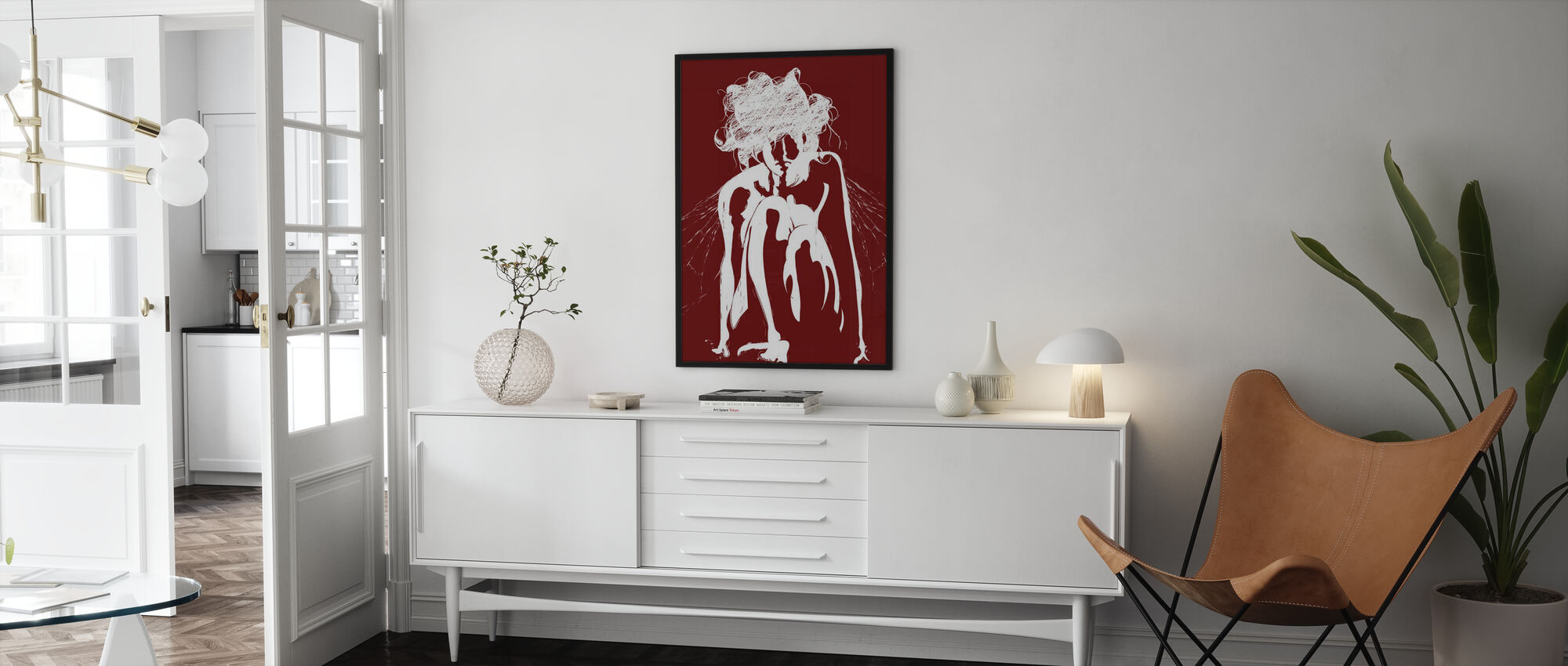 Tinker - Red - Poster - Living Room