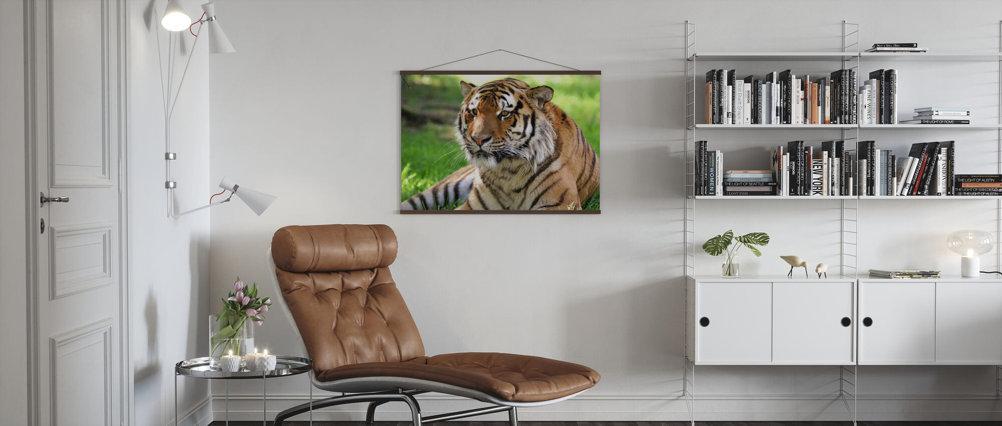 Tiikeri - Juliste - Olohuone