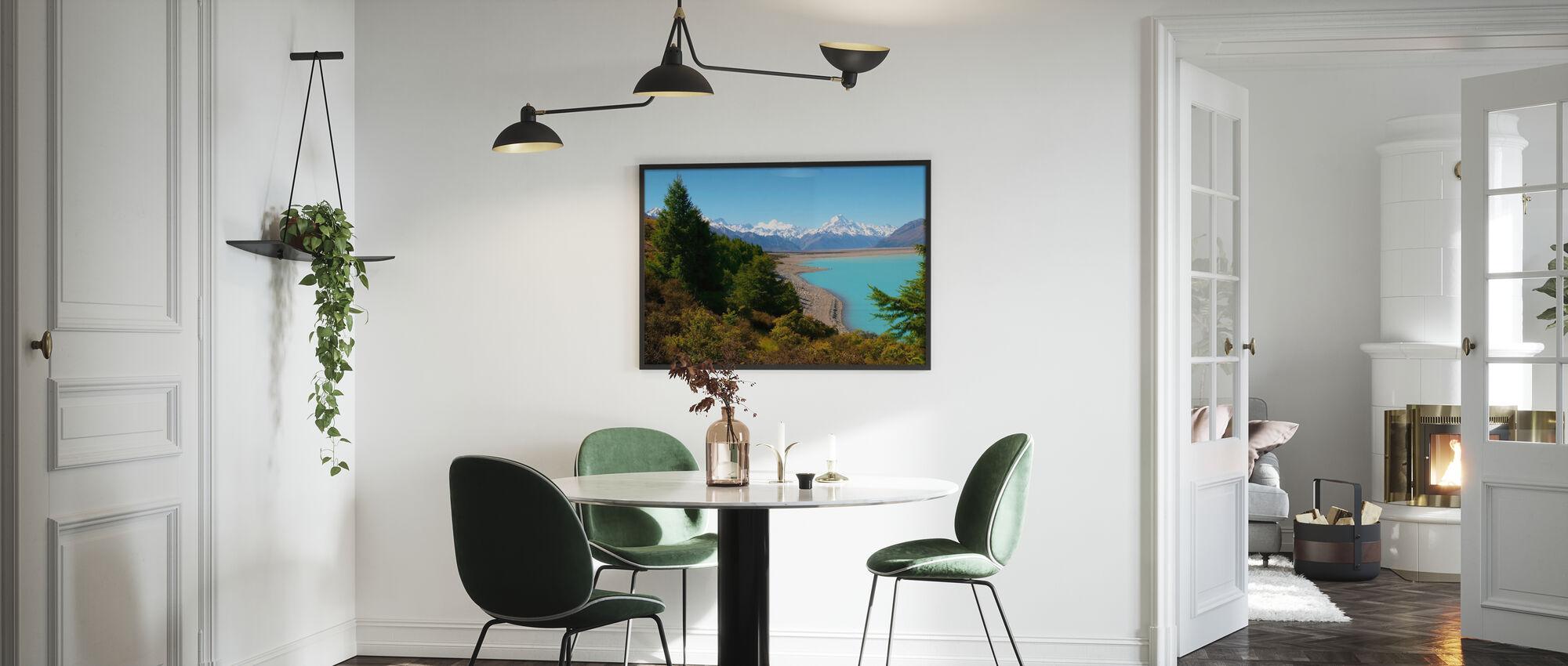 Lake Pukaki - Framed print - Kitchen