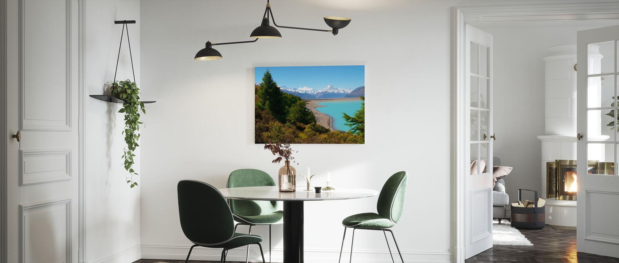 Lake Pukaki - Canvas print - Kitchen