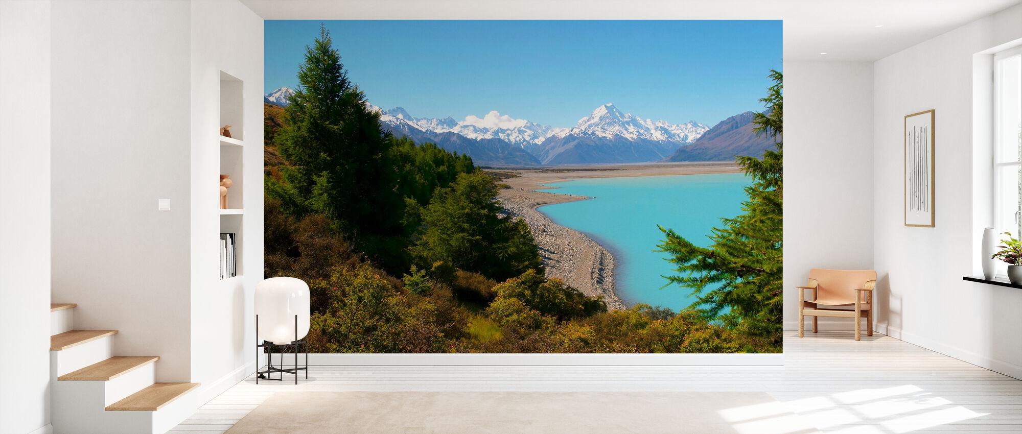 Lake Pukaki - Wallpaper - Hallway