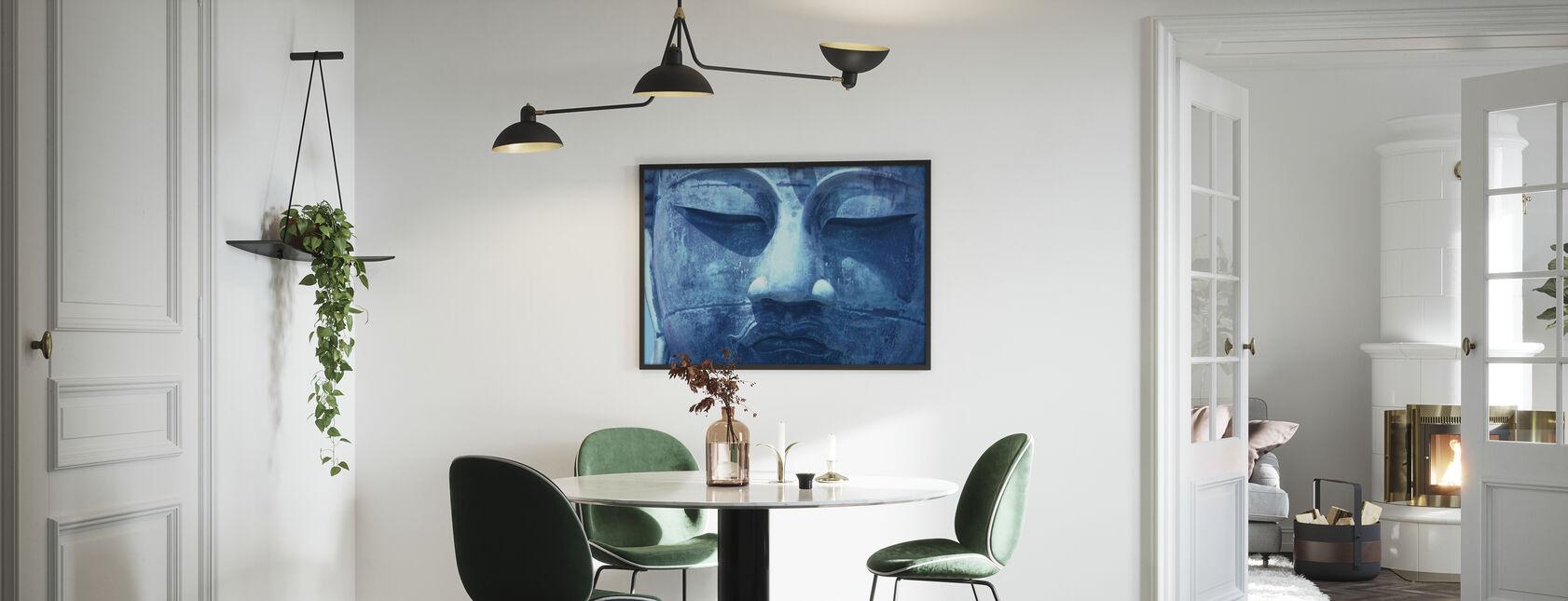 Sininen Buddha - Kehystetty kuva - Keittiö